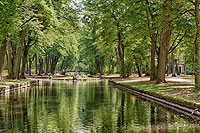 Picture: Bayreuth Court Garden, canal