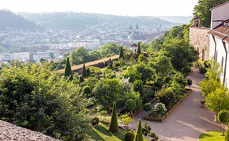 Bavarian Palace Department | Gardens | Eichstätt Bastion Garden