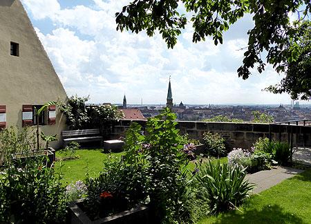 Bayerische Schlösserverwaltung Gärten Burggarten Nürnberg