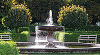 Picture: Fountain at the Munich Court Garden