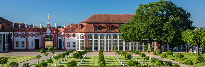 Picture: Orangery at Seehof Palace Park
