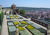 Picture: Princes' Garden on Marienberg Fortress