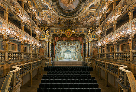 Picture: Margravial Opera House, view of the stage
