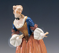 "Picture: Porcelain figure ""Isabella"""