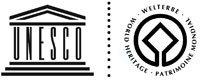 Picture: Logo of the UNESCO and the World Heritage Centre