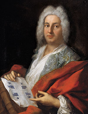 Picture: Joseph Effner, painting by Jacopo Amigoni, 1720/21