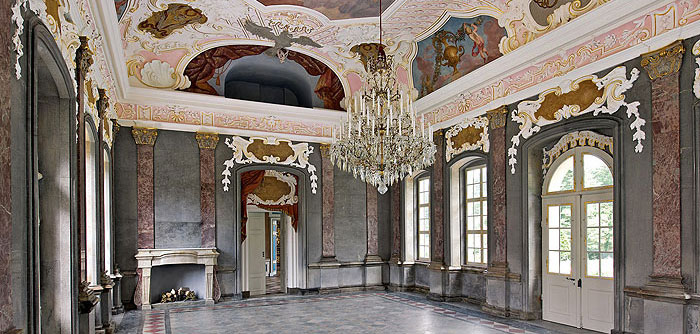 Picture: Marble Hall at Hermitage Old Palace, Bayreuth