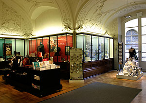 Picture: Museum shop at the Munich Residence