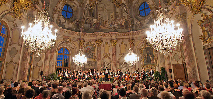 Picture: Concert at the Würzburg Residenz
