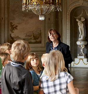 Picture: Guided tour for children at Ellingen Residence