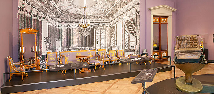 "Picture: Special exhibition ""At home with the Grand Duke"" at the Würzburg Residence"