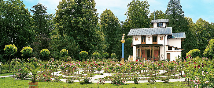 Picture: Gardens on Rose Island in the Starnberger See