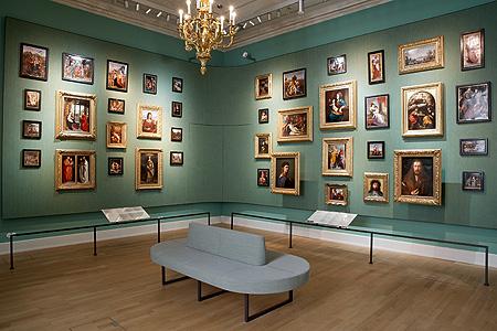 Bild: Residenz München, Schausammlung Porzellan, Porzellangemälde Nach  Meisterwerken Der Königlichen Sammlung