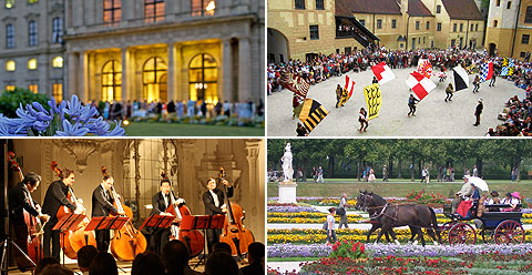 Picture: Events at the sights of the Bavarian Palace Department