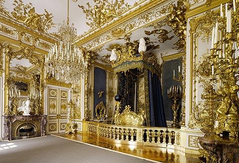 Bild: Schlafzimmer König Ludwigs II.